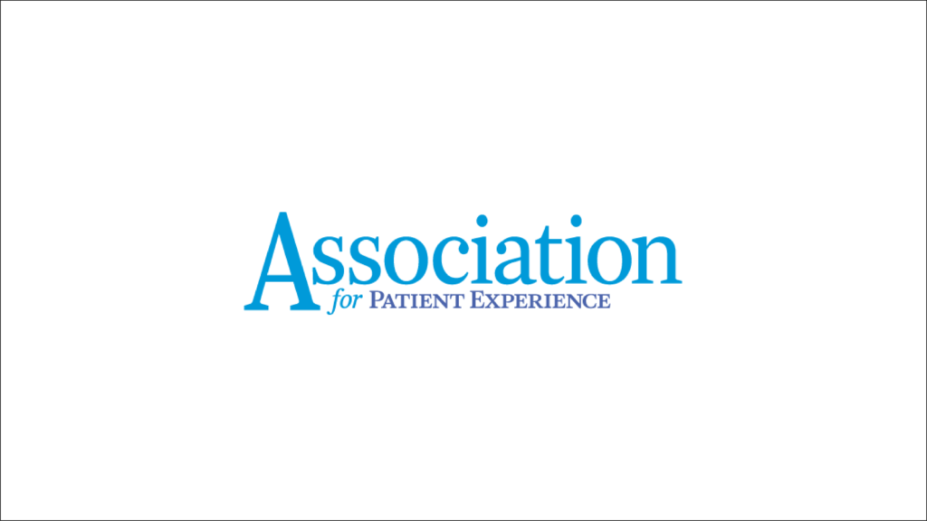 logo for the association for patient experience