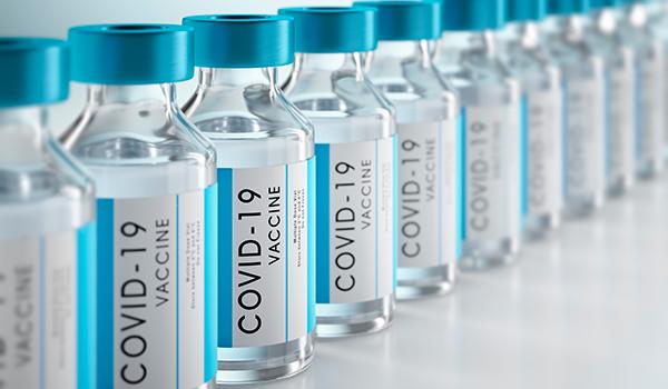 Covid-19 Vaccine viles