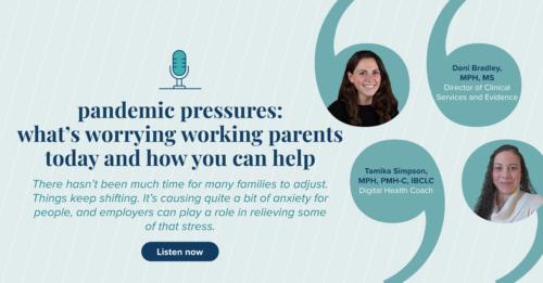 Parental mental health podcast image